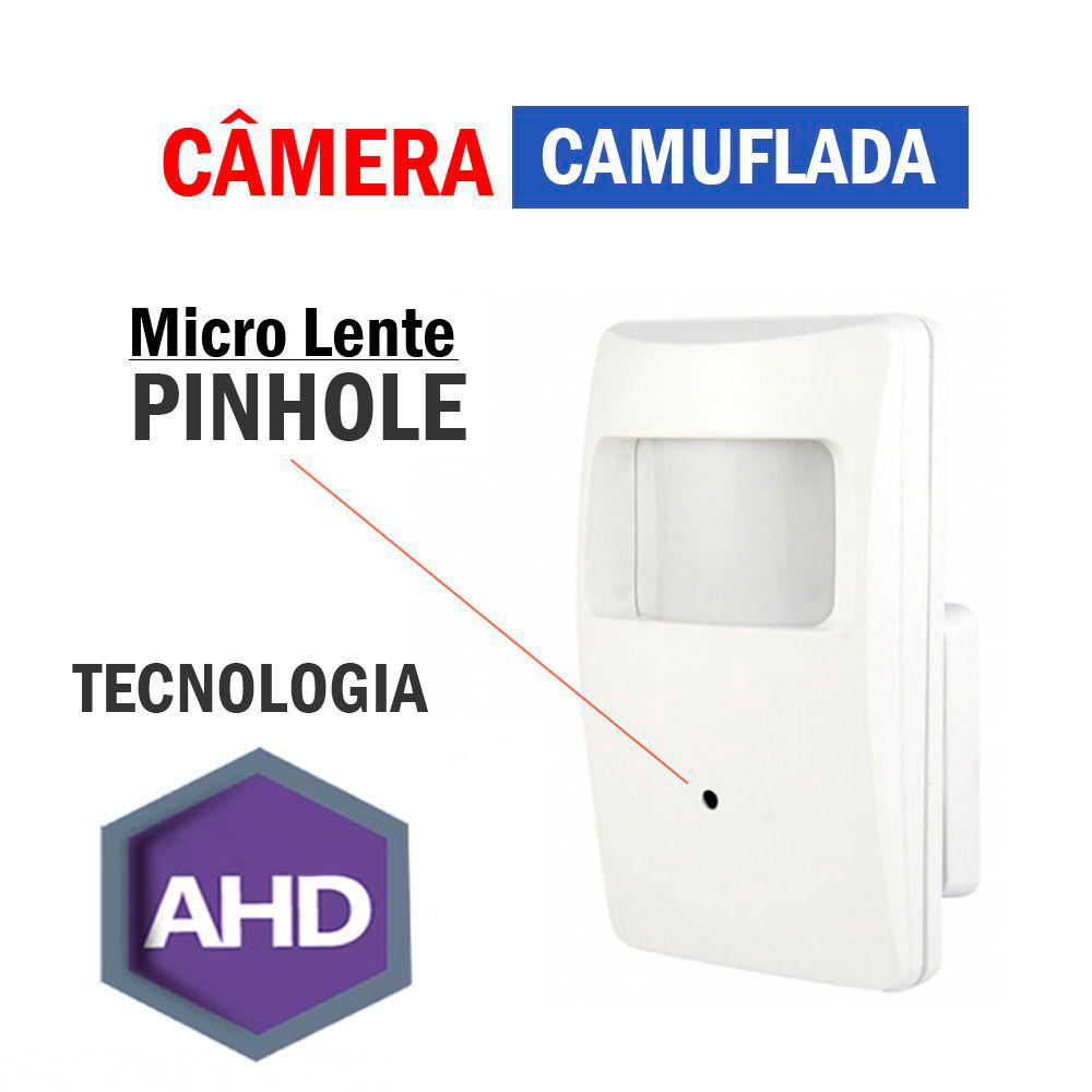 Câmera Camuflada Sensor Stilus Ahd 720P 1.0Mp