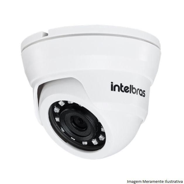 Câmera Dome Infravermelho Híbrida Intelbras VMD 1010 IR G4 - AHD HD 720p e Analógica 900 Linhas