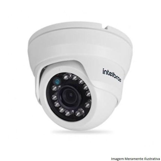 Câmera Dome Infravermelho Híbrida Intelbras VMD 1120 IR G4 - AHD HD 720p e Analógica 900 Linhas