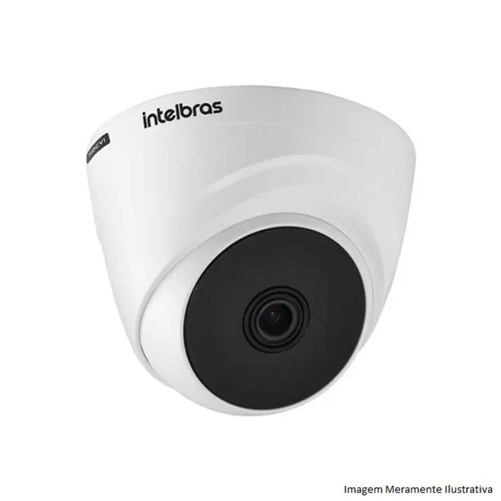 Câmera Dome Infravermelho Multi Hd 4 Em 1 Intelbras Vhd 1220 D G4 1080P 2,8Mm