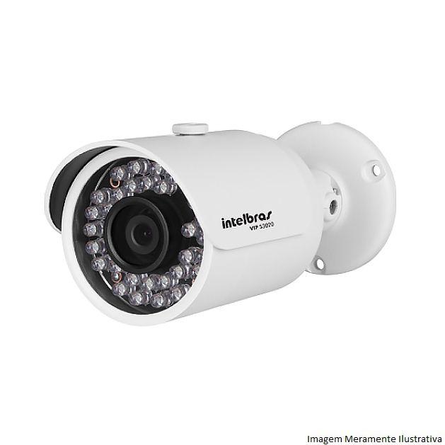 Câmera IP Bullet Intelbras VIP S3020 720P Alta Resolução