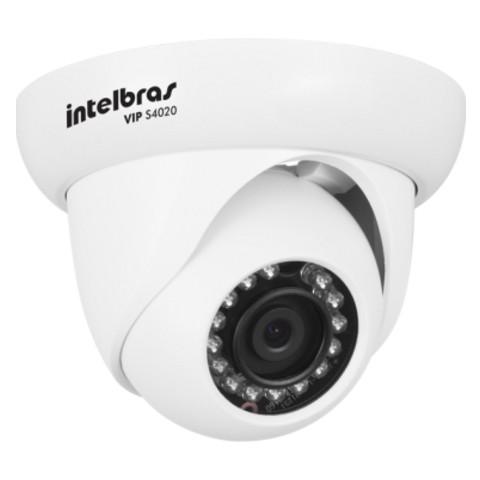 Câmera IP Dome Intelbras S4020 HD 720p 20 metros