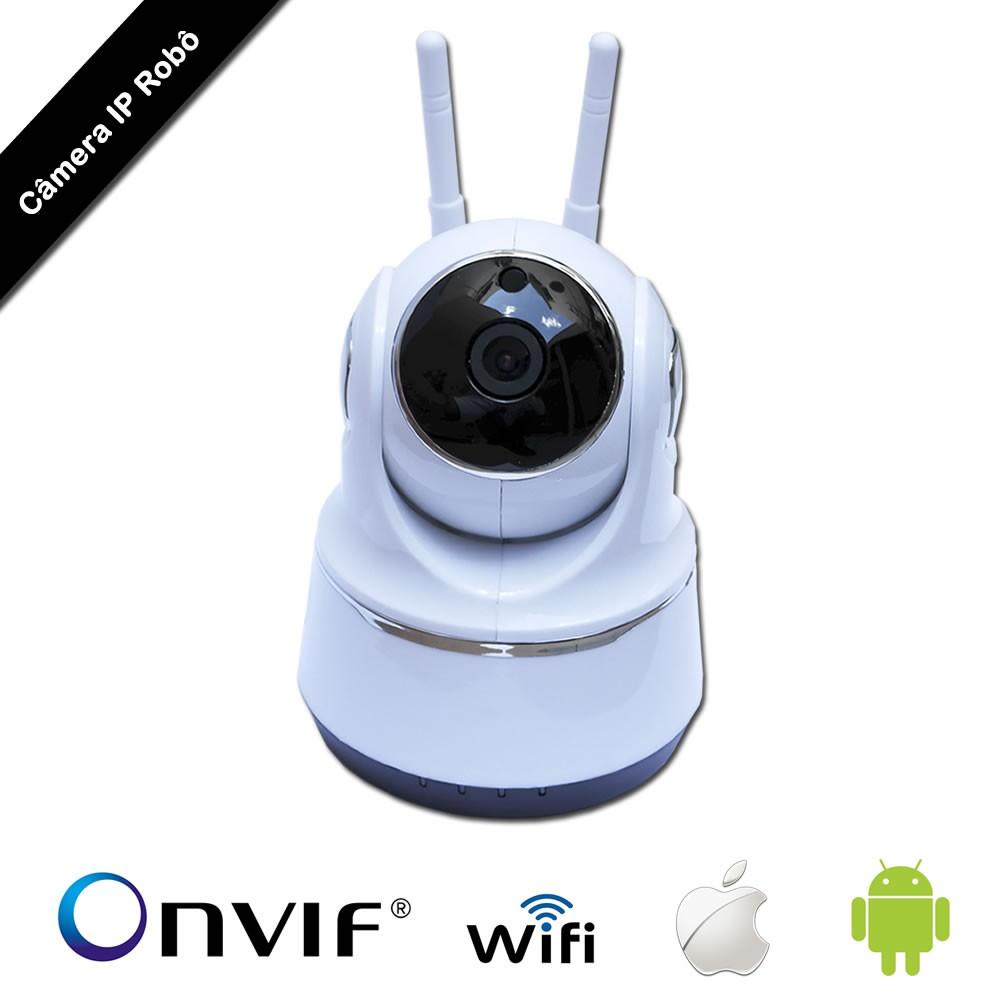 Câmera IP Robô II AHD WI-FI HD 720p 1.0 MP