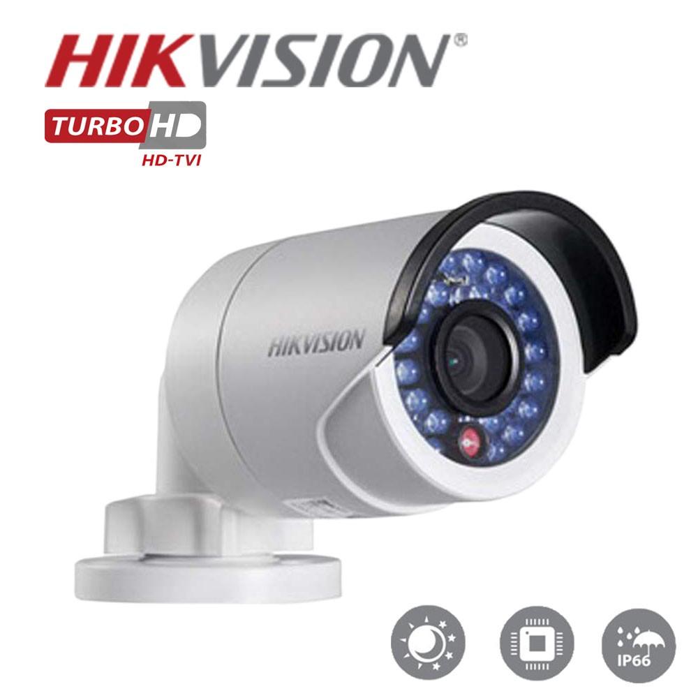 Câmera Bullet Infravermelho  Hibrida HIKVISION 2CE160T- IRP 1MP 3,6MM 720P IP 66