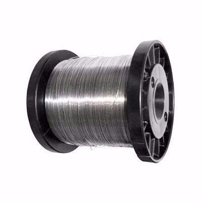 Carretel Arame Aço Inox Cerca Elétrica Fio 0,90mm 800G Bobina 137 Metros