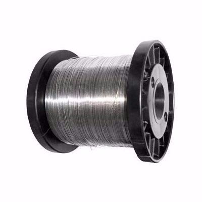 Carretel Arame Aço Inox Cerca Elétrica Fio 1,20mm Bobina 100 Metros