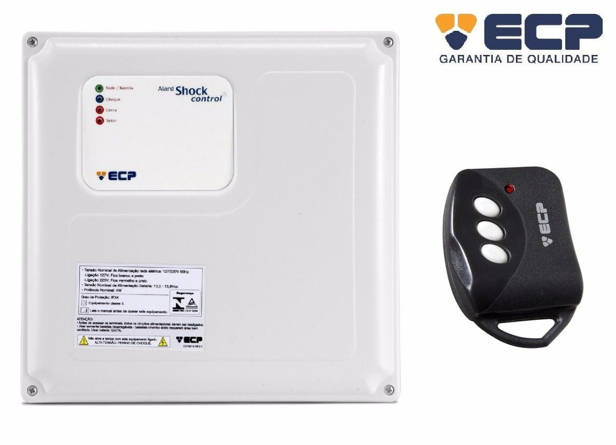 Central de Cerca Elétrica ALARD SHOCK Control 10.000 Volts ECP