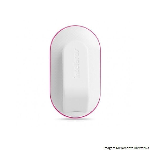 Controle Remoto Intelbras XAC 4000 Smart Preto/Rosa, Alarme, Portão Eletronico 433,92MHz SAW