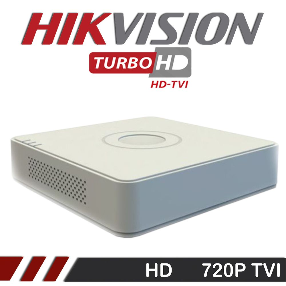 DVR Stand Alone Hikvision 08 Canais  720p