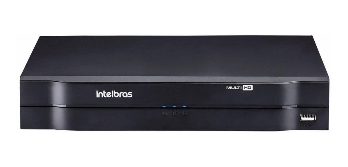 DVR Stand Alone MultiHD Intelbras MHDX-1104 - 4 Canais 1080N
