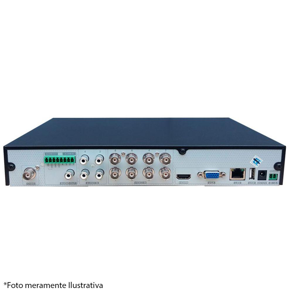 DVR Stand Alone Tecvoz TW P3008 08 Ch 1080P Flex 5 em 1