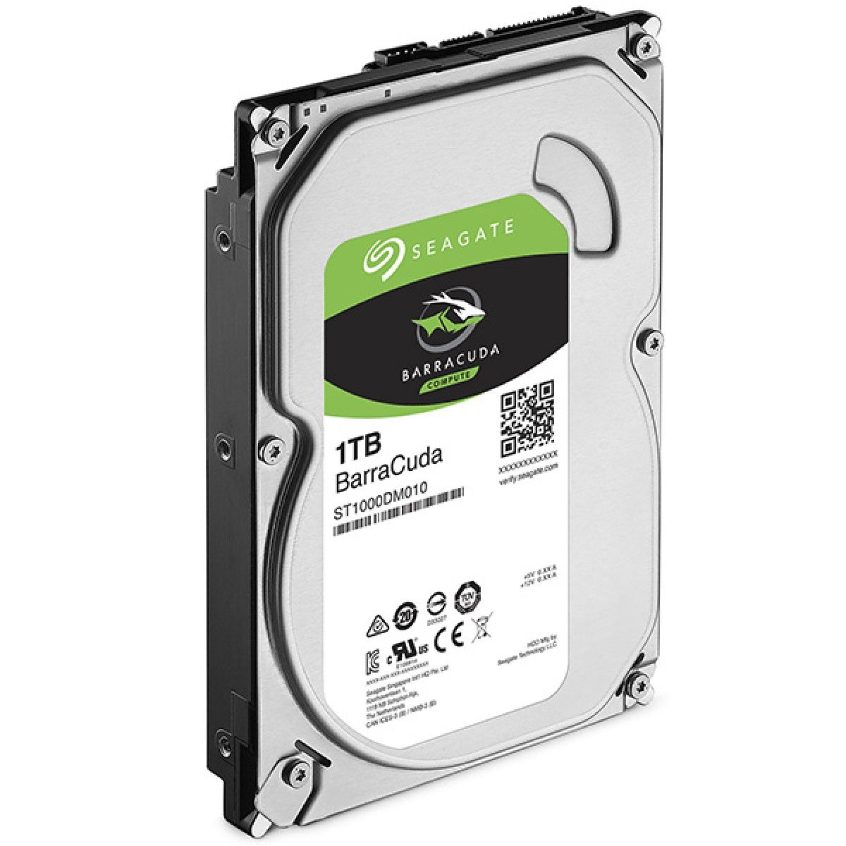 HD SATA3 1TB Barracuda Interno 7200Rpm 64Mb