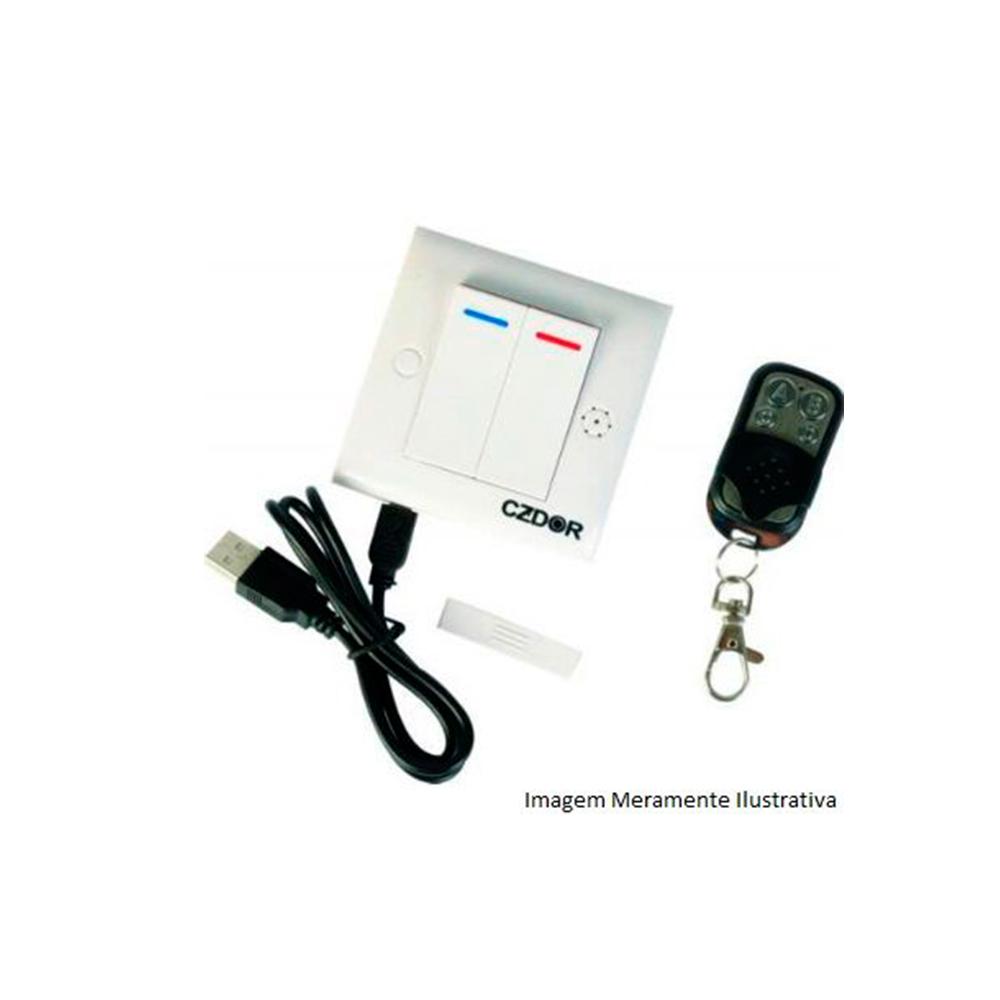 Interruptor Com Câmera Espiã 2 Mp