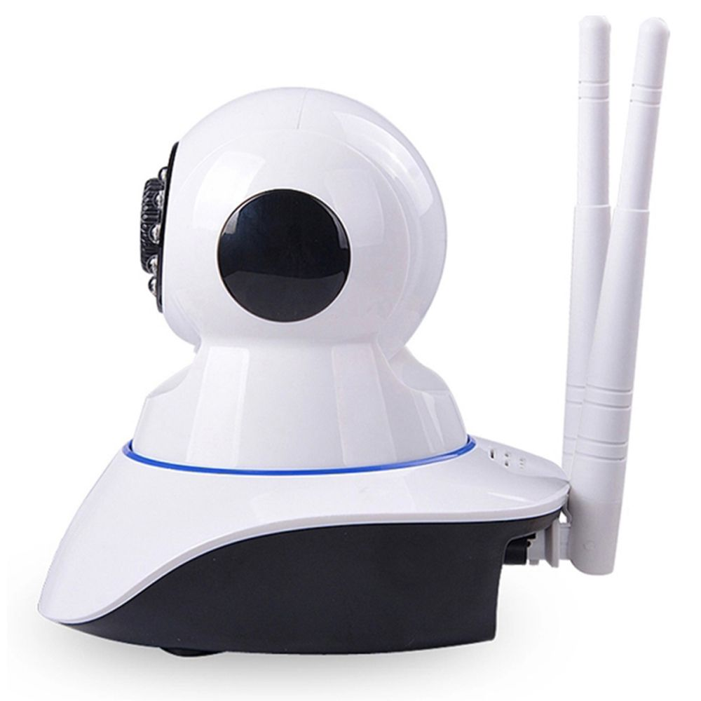 KIT 2 Câmeras IP Sem Fio Wifi HD 720p Robo Wireless Visão Noturna com Micro SD 16GB