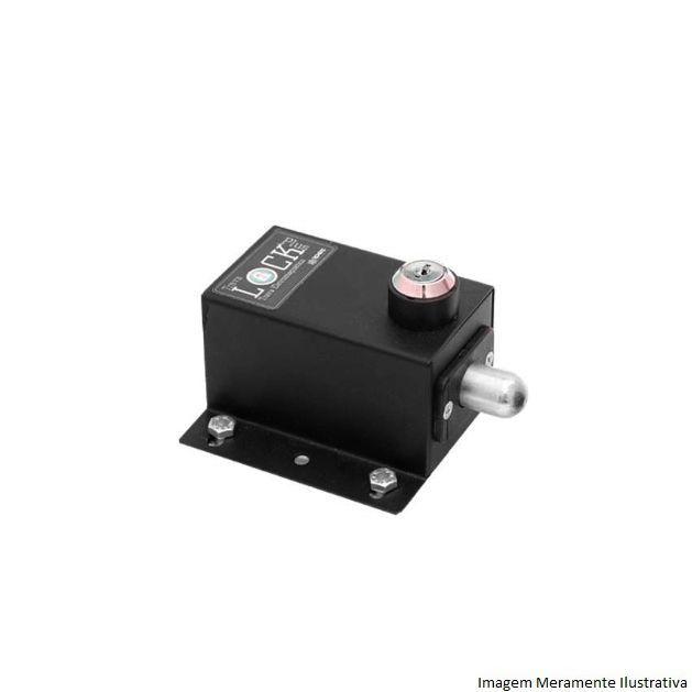 Kit 2 Trava Elétrica P/ Portão Automático+modulo Temporizador 220v
