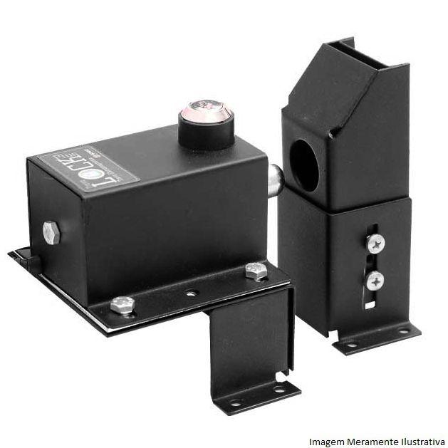 Kit 2 Travas Elétricas Lock Plus P/ Portão Automático + Modulo Temporizador 220V