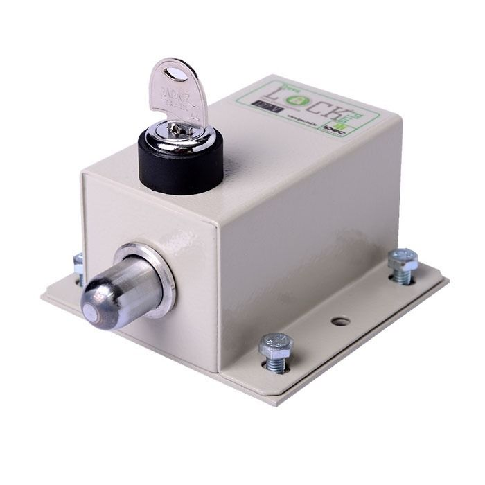 Kit 2 Travas Lock Plus Elétricas P/ Portão Automático + Modulo Temporizador 127V