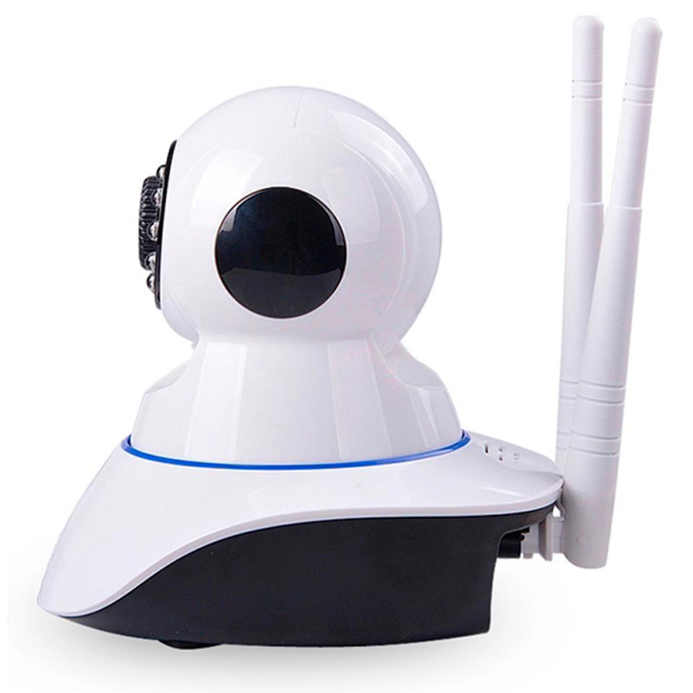Kit 4 Câmera De Segurança Ip Robô Wifi Ahd 720P P2P Onvif 1.3Mp