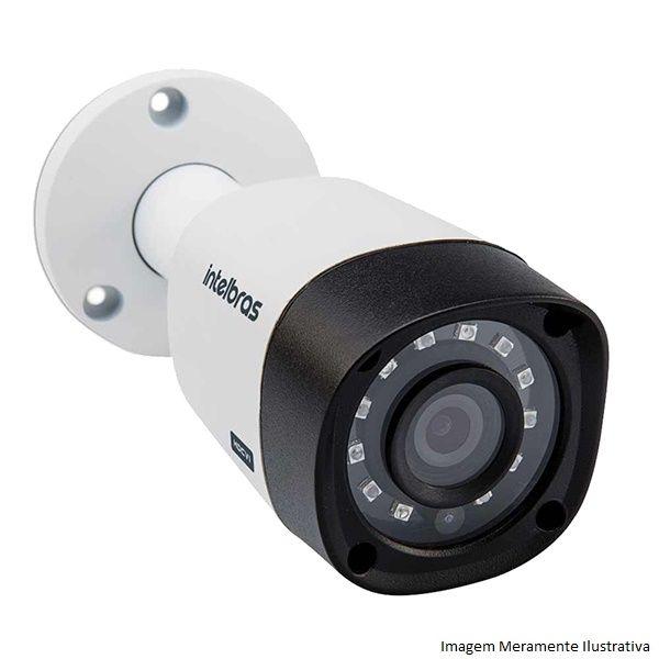 Kit Cftv 10 Câmeras Vhd 1220B 1080P 3,6Mm Dvr Intelbras Mhdx 3116 + Acessorios