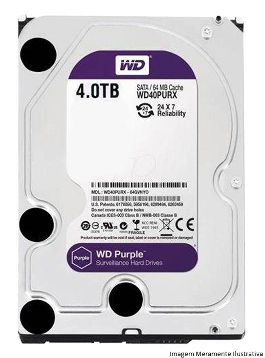Kit Cftv 10 Câmeras Vhd 1220B 1080P 3,6Mm Dvr Intelbras Mhdx 3116 + Hd 4Tb Wdp