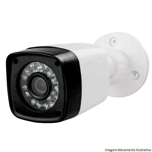 Kit Cftv 2 Câmeras AHD Bullet 720p Dvr 4 Canais Luxvision 5 em 1 + HD 2TB