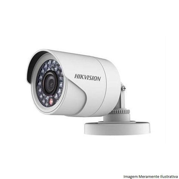 Kit CFTV 4 Câmeras Hikvision DVR 4 canais DS-7204 Acessórios