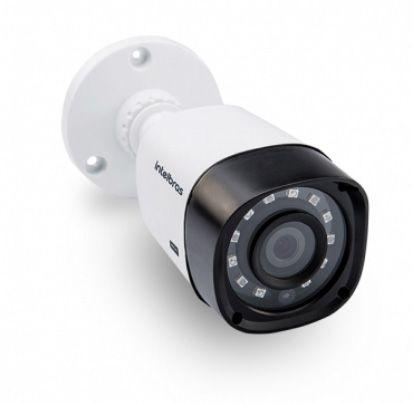 Kit Cftv 6 Câmeras VHD 1010B Bullet 720p Dvr 8 Canais Intelbras MHDX + ACESSÓRIOS