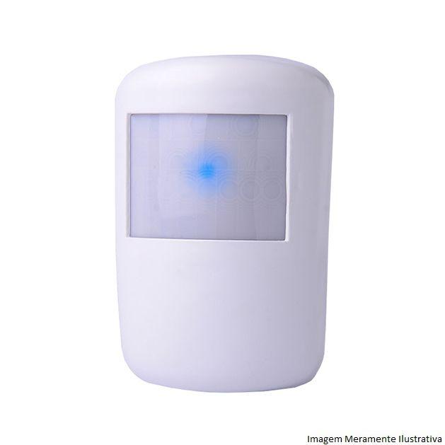 Kit De Alarme Al 4 Residencial Ipec Com 6 Sensores Magnéticos 5 Sensor Infravermelho Sem Fio