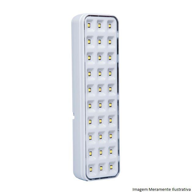 Luminária De Emergência Lde 30L Intelbras - Engesul
