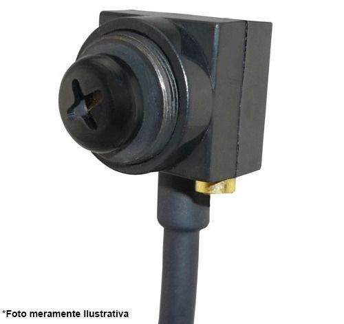 Micro Câmera Pinhole Espiã Color 1000TVL tipo Parafuso, Com áudio