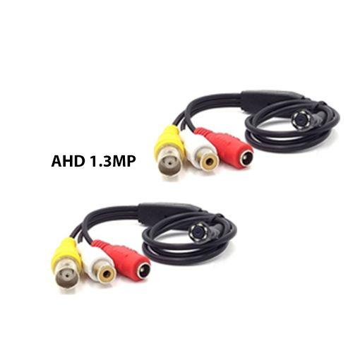 Micro Câmera Pinhole Espiã AHD-M 1.3MP Com áudio 720P