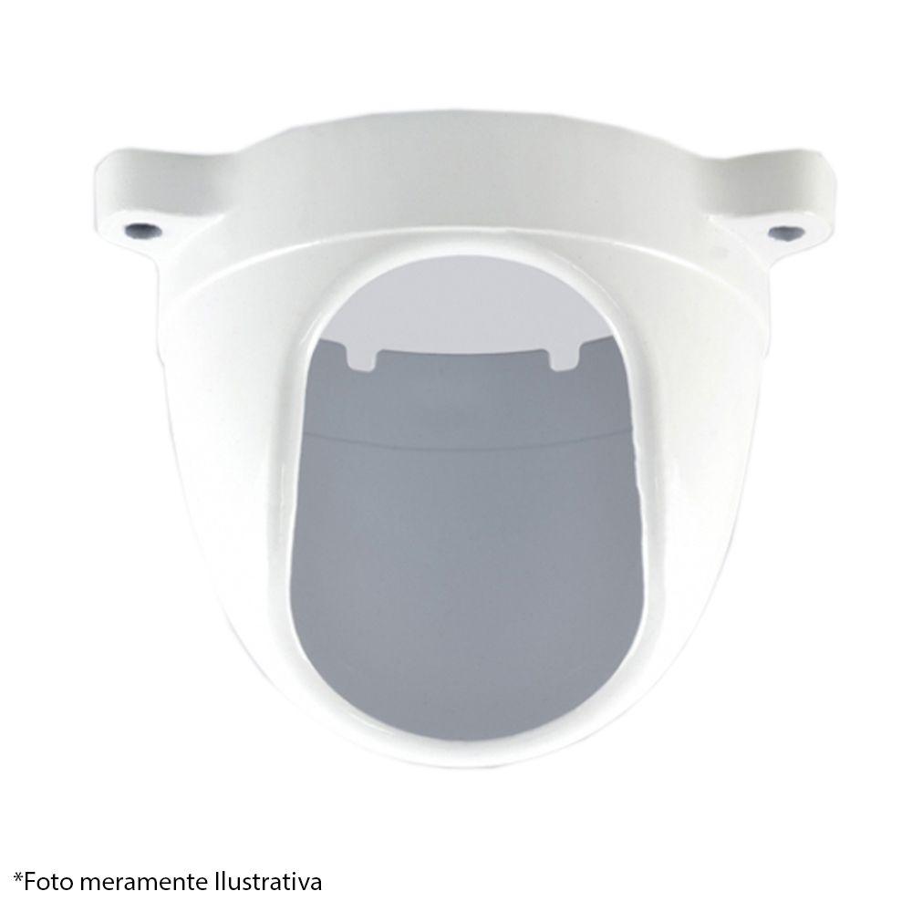 Protetor para Câmera Dome Com Infra Branco Anti - Vandalismo em Alumínio