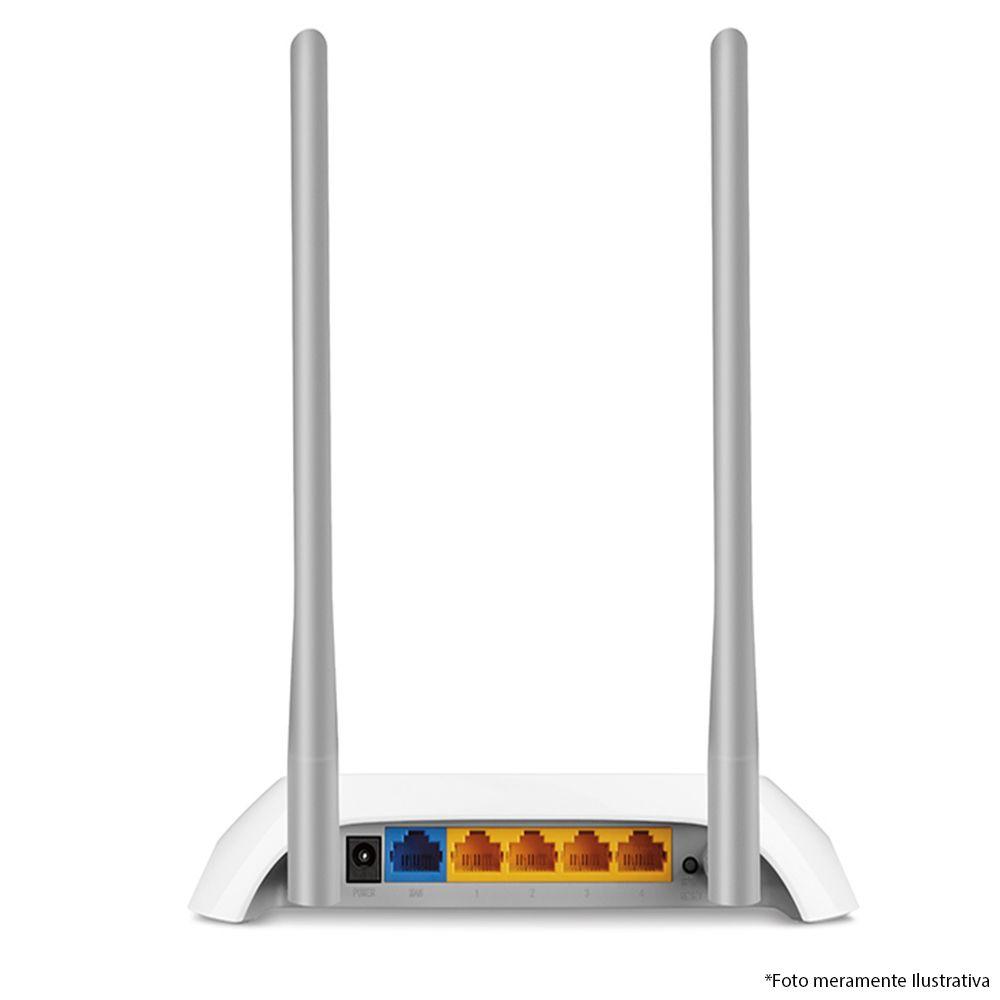 Roteador Wireless N 300Mbps TL-WR840N, Fácil Configuração, Compatível com IEEE 802.11b/g/n