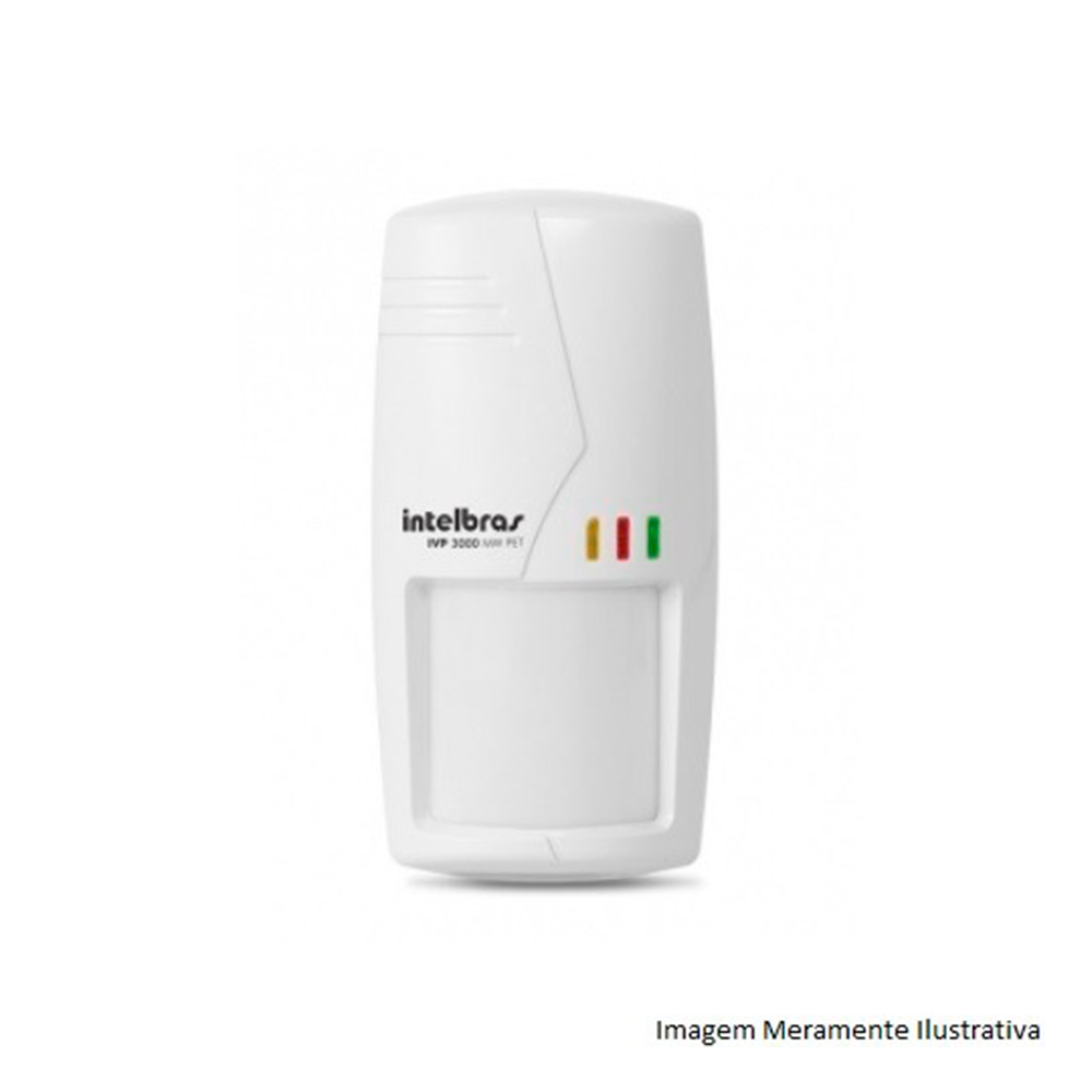 Sensor Infravermelho Passivo Intelbras Ivp 3000 Mw Pet Com Fio