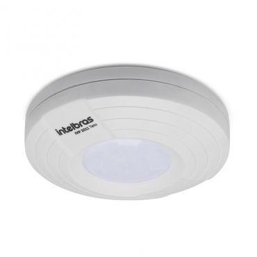 Sensor Infravermelho passivo teto para Alarme Intelbras IVP 3011 TETO, Distância de detecção ajustável, Proteção Anti - Violação, Processamento digital de sinal (DSP)