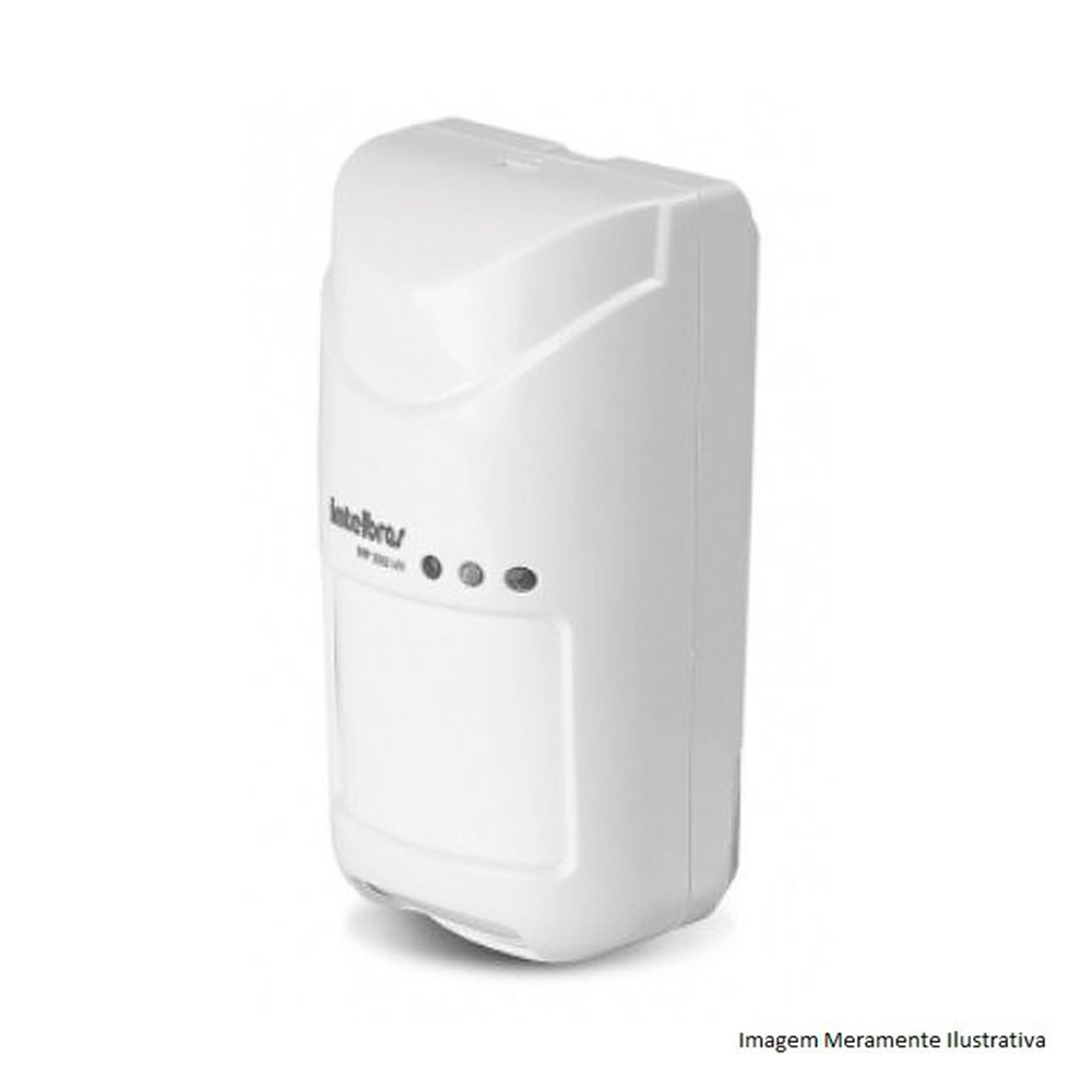 Sensor Passivo Tripla Tecnologia Intelbras Ivp 3000 Mw