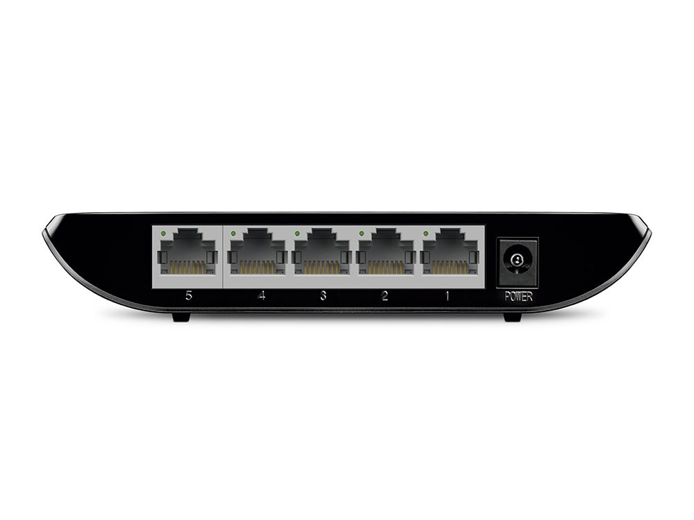 Switch Gigabit de Mesa 5 Portas  TP-LINK TL-SG1005D 10/100/1000 Mbps, Plug and Play