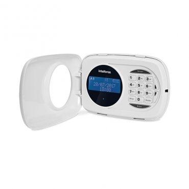 Teclado de Alarme XAT 4000 LCD Intelbras, 2 zonas simples com fio, Alimentação 9 a 16 vdc