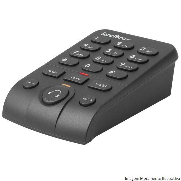 Telefone Headset Hsb 50 Intelbras Tiara Chs 55 E Base Dbi 10