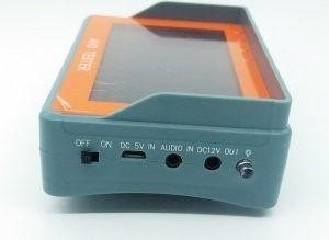 Aparelho Para Teste De Câmeras De Cftv Ahd Com Monitor
