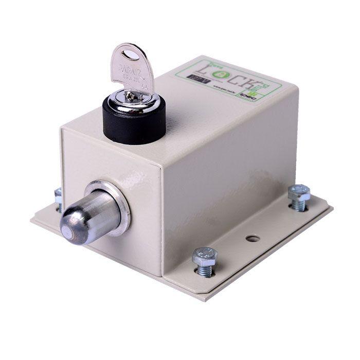 Kit 2 Trava Elétrica P/ Portão Automático+modulo Temporizador 127v