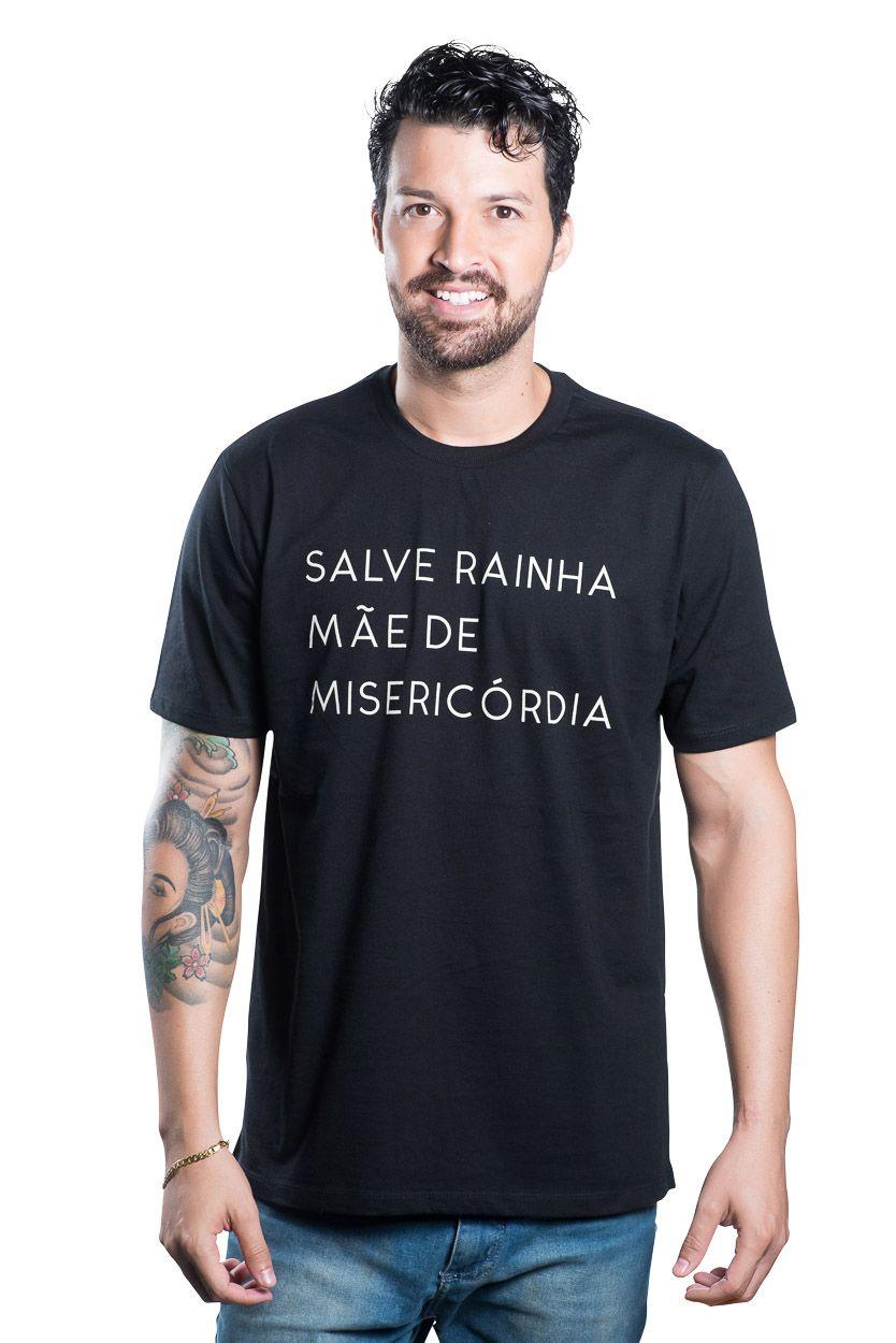 CAMISETA SALVE RAINHA MÃE DE MISERICÓRDIA UNISSEX