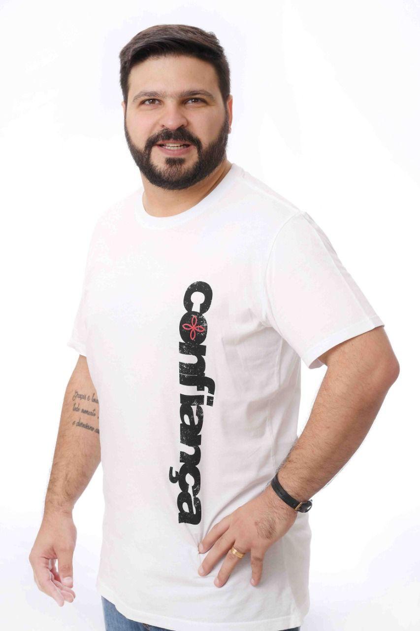 Kit Confiança 3 - Camiseta Confiança + Máscara eu confio em Vós