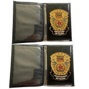 Carteira Policia Civil do Estado de Minas Gerais - PCMG - Oficial Lançamento