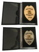 Carteira Polícia Municipal - GCM - Brasão Nacional