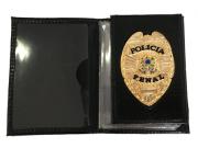 Carteira Policia Penal brasão Nacional - Águia