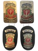Distintivo Escrivão de Polícia Civil de São Paulo - PCESP