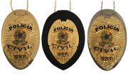 Distintivo Polícia Civil Brasão Nacional modelo Águia