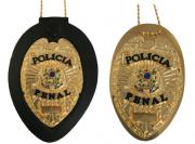 Distintivo Policia Penal brasão Nacional - Águia