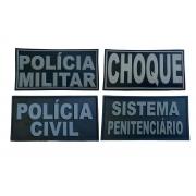 Emborrachado Polícias Civil e Militar - Costas do Colete - PM ou PC